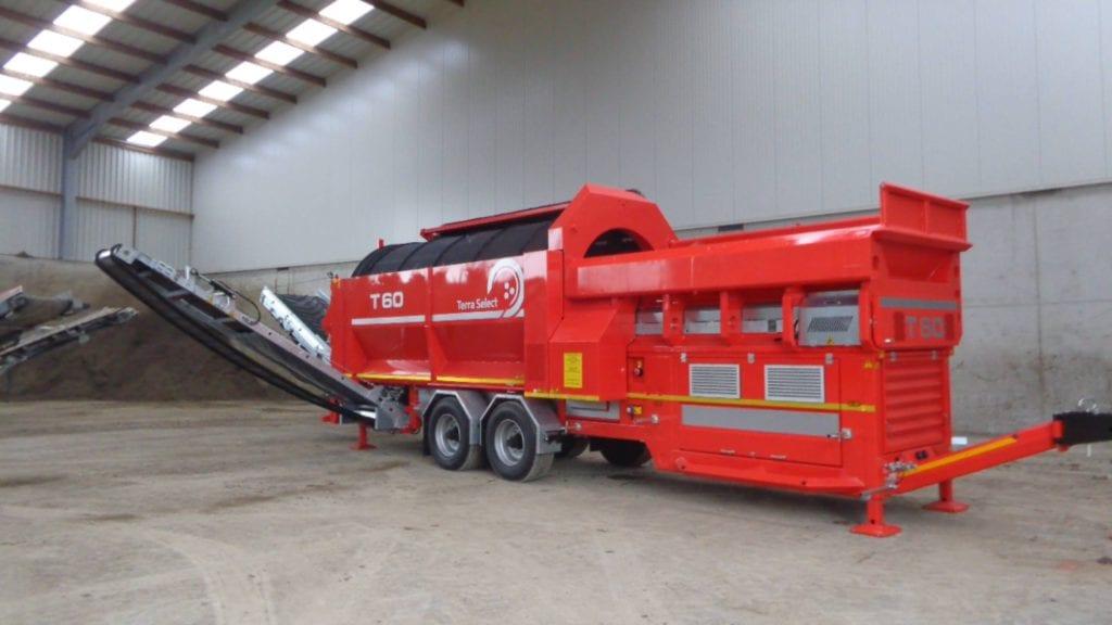 Nieuwe zeefmachine: de Terra Select T60